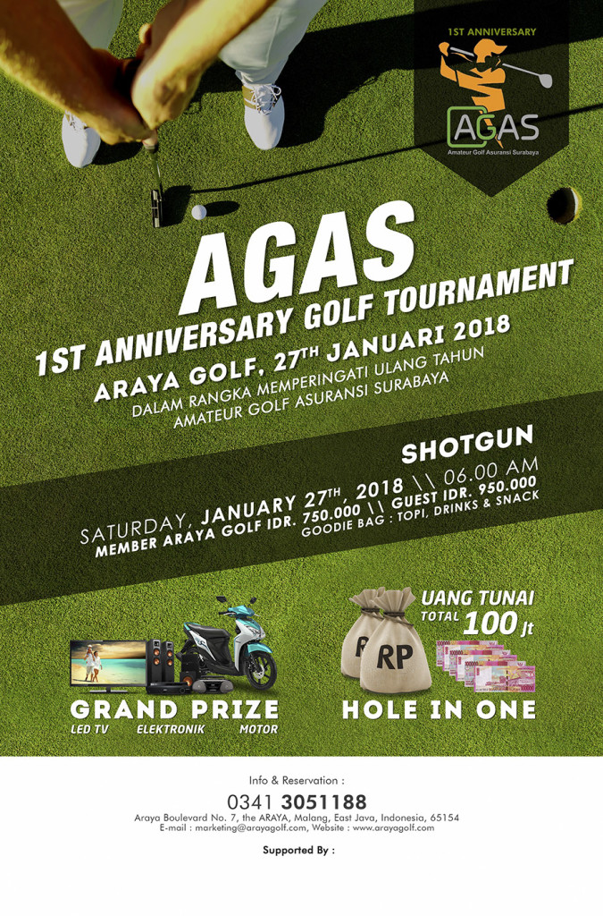 Poster agas cup
